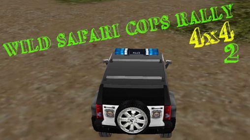 Wildes safari rennen mit polizei 4x4 2 verrückte polizei abenteuer