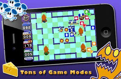 Katz und Maus Spiel - iPhone-Game Screenshots. Spielszene Katz und