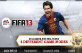 Zusätzlich zum Spiel Schützengraben 2 für iPhone, iPad oder iPod können Sie auch kostenlos FIFA 13 von EA SPORTS herunterladen