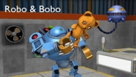 Zusätzlich zum Spiel Schützengraben 2 für iPhone, iPad oder iPod können Sie auch kostenlos Robo und Bobo herunterladen