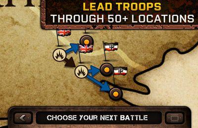 Screenshots vom Spiel Schützengraben 2 für iPhone, iPad oder iPod.