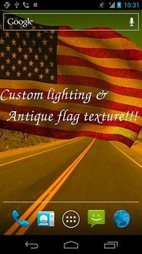 Amerikanische fahne 3d 3d us flag